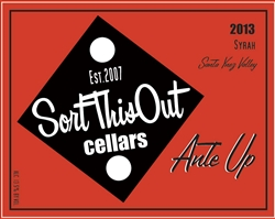 2013 Ante Up Syrah Rollers Reserve