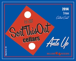 2014 Ante Up Syrah Rollers Reserve