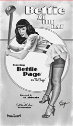 "Bettie Page ""At The Bat"" Merlot"