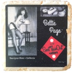 Bettie Page Sauv Blanc Coaster