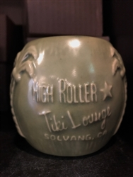 High Roller Tiki Lounge Coconut Mug
