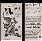 "Bettie Page ""Dashing Through The Snow"" Cabernet Sauvignon"