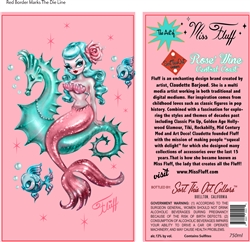 Miss Fluff Mermaid Rose