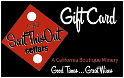 Sort This Out Cellars $75 Gift Card