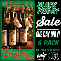 Holiday Mulled Wine Half Case Special