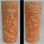 High Roller Tiki Lounge MERMAID MUG