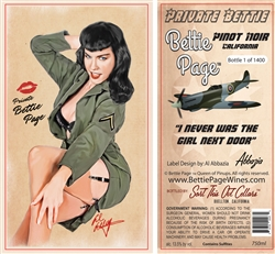 "Bettie Page ""Private Bettie"" Pinot Noir"