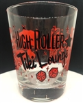 High Roller Tiki Lounge Tiki Glass RED